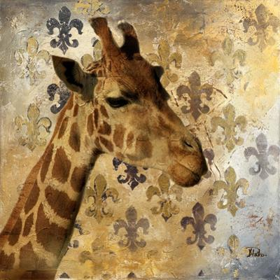 Golden Safari III (Giraffe) by Patricia Pinto