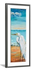Great Egret Panel II by Patricia Pinto