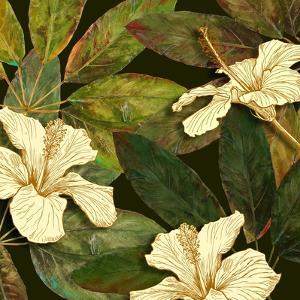 Hibiscus Leaves I by Patricia Pinto