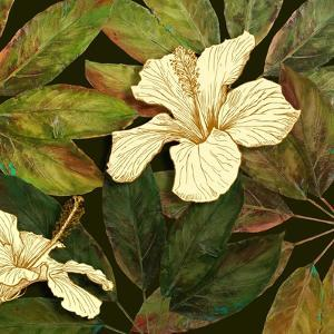 Hibiscus Leaves II by Patricia Pinto