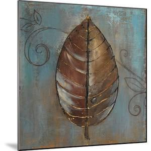 New Leaf V (Blue) by Patricia Pinto