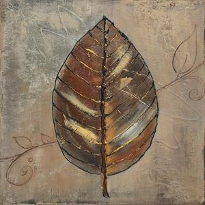 New Leaf VIII (taupe) by Patricia Pinto