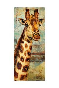New Safari on Teal I by Patricia Pinto