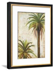 Palms and Scrolls I by Patricia Pinto