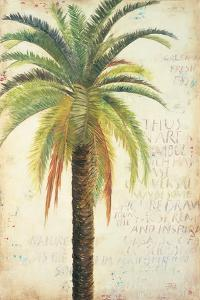 Palms &Scrolls II by Patricia Pinto