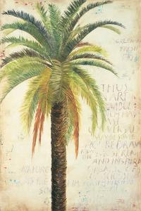 Palms &Scrolls II by Patricia Pinto