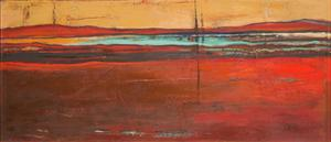 Red Horizon I by Patricia Pinto