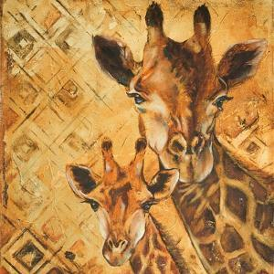 Safari Mother and Son I by Patricia Pinto