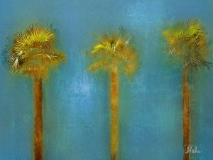 Three Palms I by Patricia Pinto