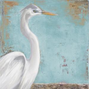 Tropic Heron I by Patricia Pinto