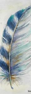 Watercolor Feather V by Patricia Pinto