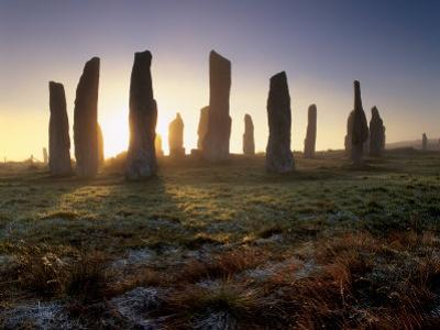 Callanish Standing Stones, Isle of Lewis, Outer Hebrides, Scotland by Patrick Dieudonne