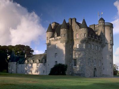 Castle Fraser, a 16th Century Castle, the Grandest of the Castles of Mar, Aberdeenshire, Scotland by Patrick Dieudonne