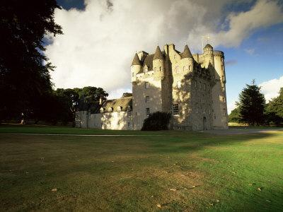 Castle Fraser, Dating from 16th Century, Dunecht, Aberdeenshire, Scotland, United Kingdom, Europe