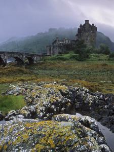 Eilean Donan Castle, Dornie, Highland Region, Scotland, United Kingdom, Europe by Patrick Dieudonne