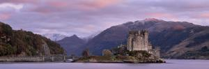 Eilean Donan Castle, Dornie, Lochalsh, Highland Region, Scotland, United Kingdom, Europe by Patrick Dieudonne