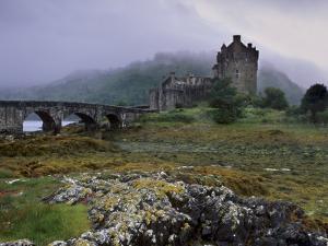 Eilean Donan Castle, Standing Where Three Lochs Join, Dornie, Highland Region, Scotland, UK by Patrick Dieudonne