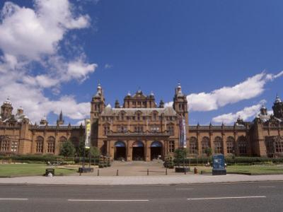 Kelvingrove Art Gallery and Museum Dating from the 19th Century, Glasgow, Scotland, United Kingdom by Patrick Dieudonne
