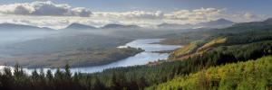 Loch Garry and Glen Garry, Near Fort Augustus, Highland Region, Scotland, United Kingdom, Europe by Patrick Dieudonne