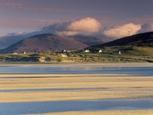 Luskentyre Bay, Tidal Area at Low Tide, South Harris, Outer Hebrides, Scotland, United Kingdom by Patrick Dieudonne