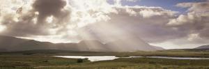 Maumturk Mountains, Joyce Country, Connemara, County Galway, Connacht, Republic of Ireland by Patrick Dieudonne