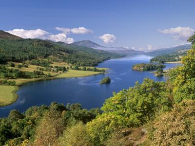 Queen's View, Famous Viewpoint over Loch Tummel, Near Pitlochry, Perth and Kinross, Scotland, UK by Patrick Dieudonne