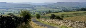Road Towards Wensleydale Valley, Yorkshire Dales National Park, Yorkshire, England, United Kingdom by Patrick Dieudonne
