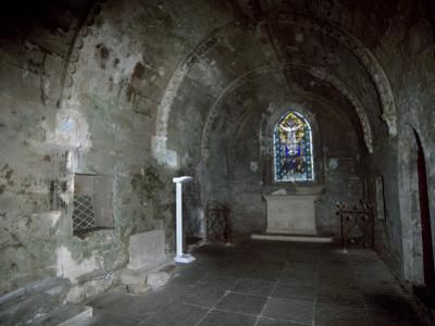 Sacristy, Rosslyn Chapel, Dating from the 15th Century, Rosslin, Midlothian, Scotland, UK by Patrick Dieudonne