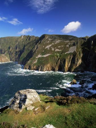 Slieve League, Bunglass Point, County Donegal, Ulster, Republic of Ireland by Patrick Dieudonne