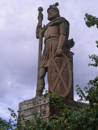 Statue of William Wallace, Stirling, Stirlingshire, Scotland, UK by Patrick Dieudonne