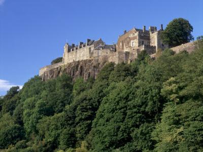 Stirling Castle, Atop Castle Hill, from the Southwest, Stirling, Scotland, United Kingdom, Europe by Patrick Dieudonne