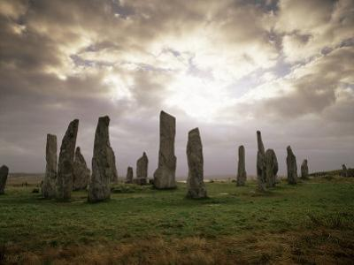 Stone Circle from Between 3000 and 1500Bc, Callanish, Isle of Lewis, Outer Hebrides, Scotland by Patrick Dieudonne