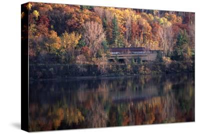Autumn at Taliesin Visitor Center, Stevens Point, Spring Green, Wisconsin, 1953