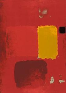 Cadmium Painting by Patrick Heron