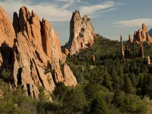 Garden of the Gods Historic Site, Colorado, USA by Patrick J. Wall