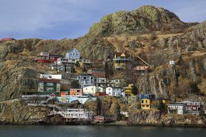 The Battery, St. John's, Newfoundland, Canada by Patrick J. Wall
