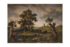 View in Hampshire, 1826-Patrick Nasmyth-Framed Giclee Print