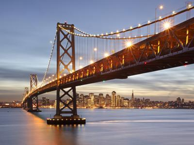 Bay Bridge, San Francisco, Califonia, USA by Patrick Smith