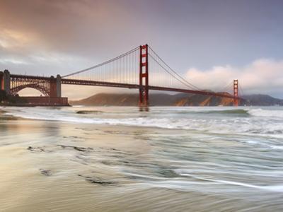 Golden Gate Bridge and Marin Headlands, San Francisco, California, USA by Patrick Smith