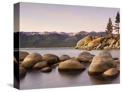 Granite Rocks, Sand Harbor State Park, Lake Tahoe, Nevada, USA