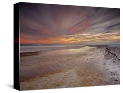 Grayton Beach at Sunset Near Destin