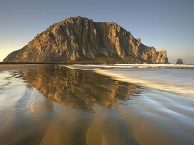 Morro Rock, Is the 576 Foot Tall Plug of an Extinct Volcano, Central California, USA by Patrick Smith