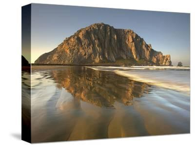Morro Rock, Is the 576 Foot Tall Plug of an Extinct Volcano, Central California, USA