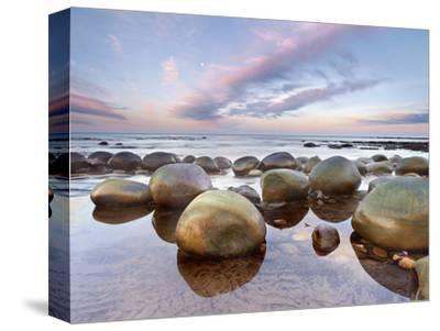 Sandstone Concretions, Bowling Ball Beach, Mendocino County, California, USA