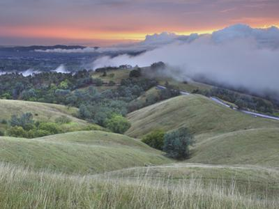 Storm Clouds over Walnut Creek and the Slopes of Mt. Diablo, Central California, USA by Patrick Smith