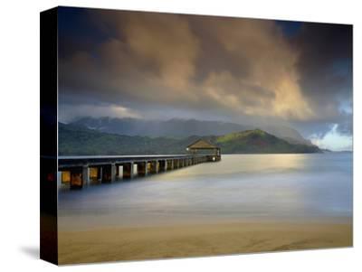 The Hanalei Pier Points Towards the Mountains Often Called Bali Hai