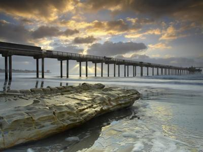The Scripps Pier in La Jolla, California, USA by Patrick Smith