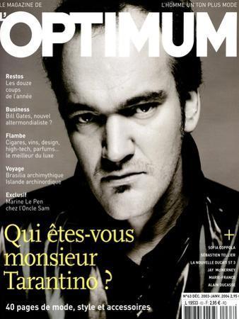 L'Optimum, December 2003-January 2004 - Quentin Tarantino Habillé Par Lv