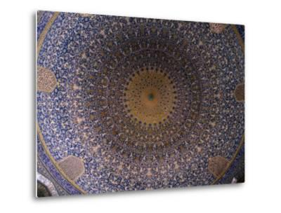 Dome Ceiling of Sheikh Lotfollah Mosque, Esfahan, Iran