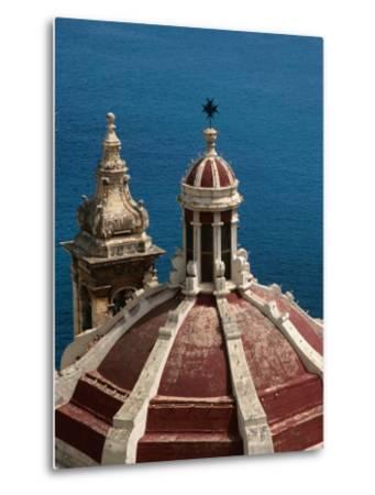 Domed Church with Maltese Cross, Valletta, Malta